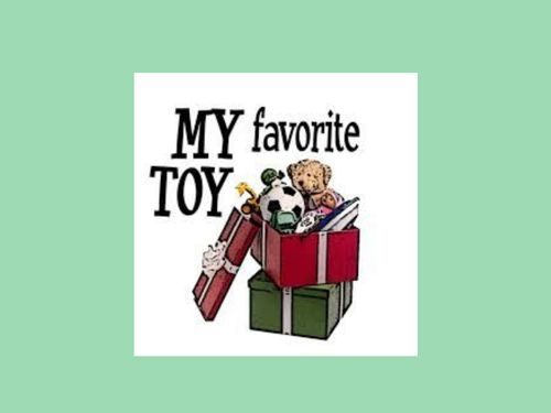 My favorite toy
