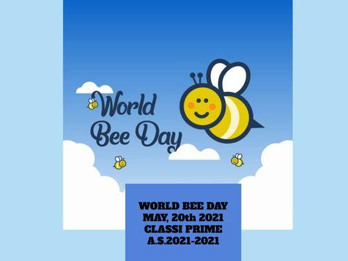 WORLD BEE DAY classi prime