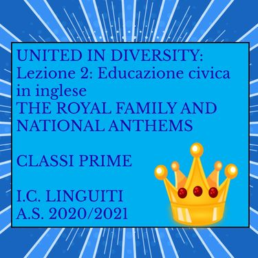 THE ROYAL FAMILY AND NATIONAL ANTHEMS