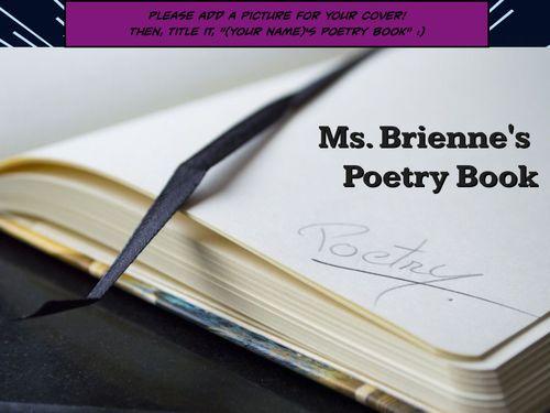 EdTech Poetry Book