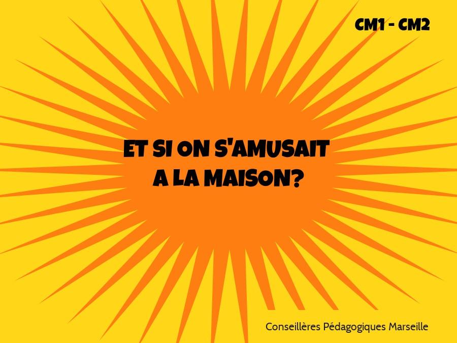 Vacances des CM1 CM2