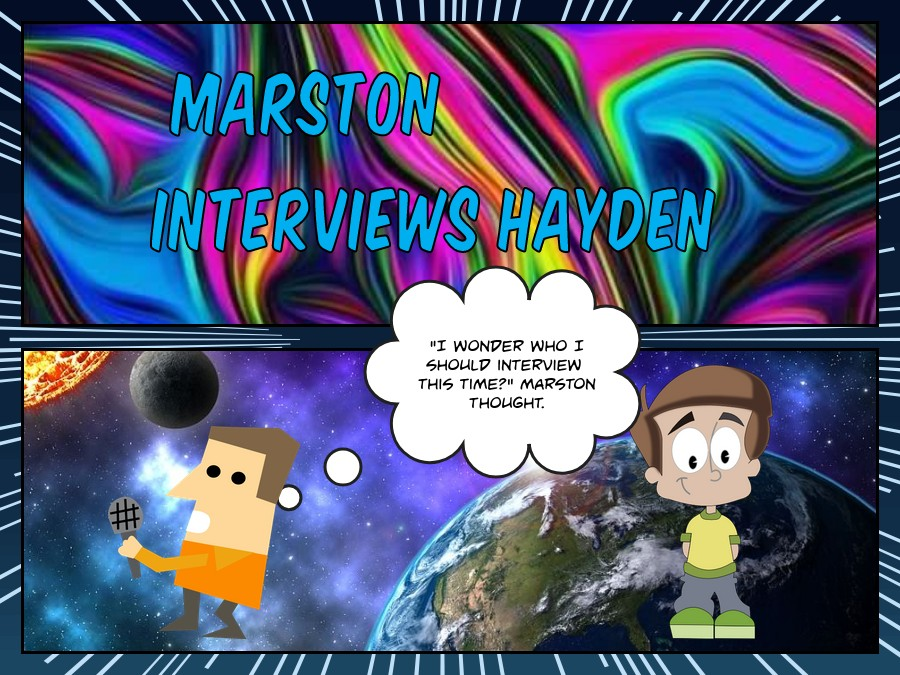 Winnie the Pooh Interviews Hayden