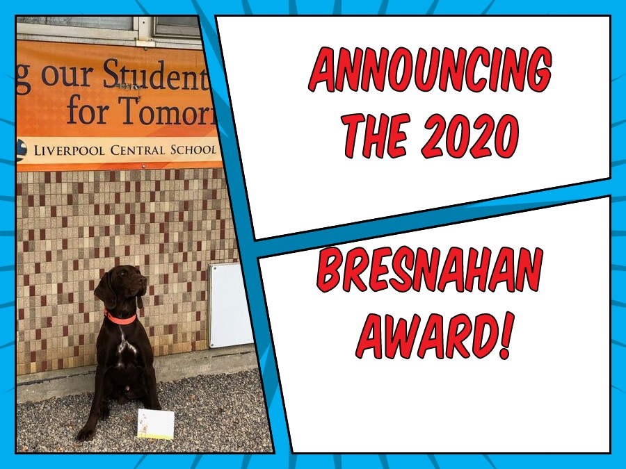Bresnahan Award 2020 Online Announcement