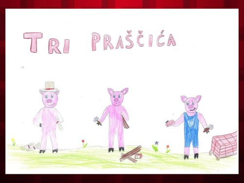Tri praščića, 2. a razred - učiteljica Aneta Groznica