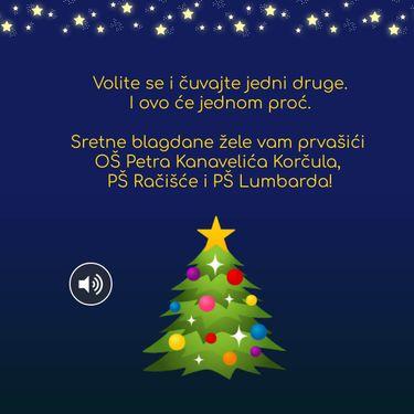 Božićna čestitka naših prvaša:)
