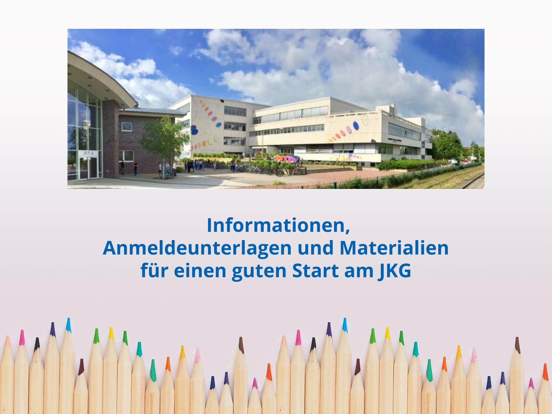 Anmeldung und Informationen für Klasse 5