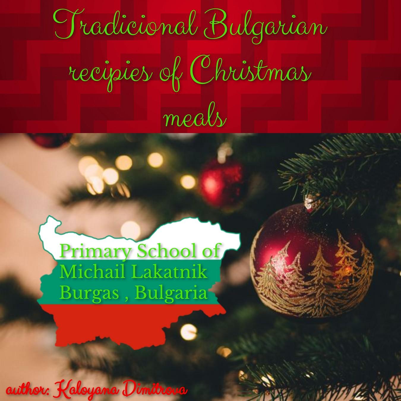 Bulgarian Christmas recipies
