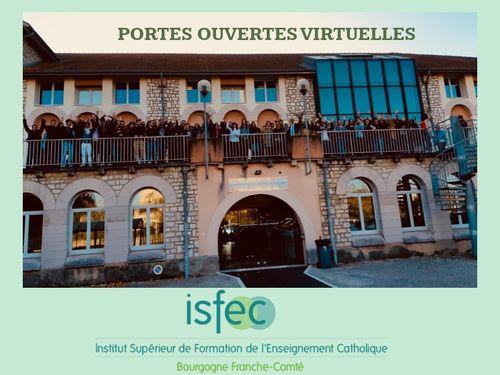 Portes ouvertes virtuelles ISFEC