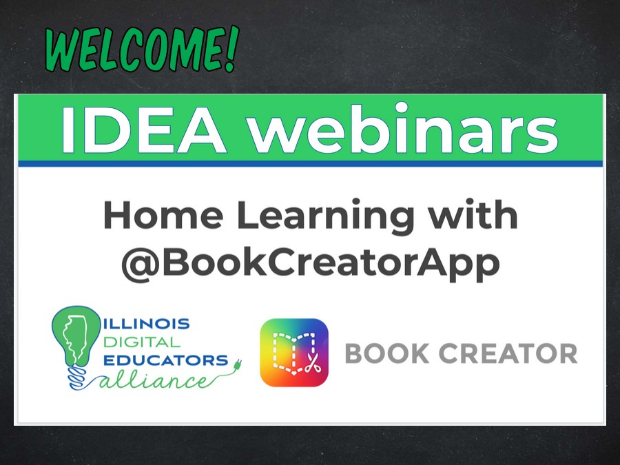 IDEA - Using Book Creator for Remote Learning