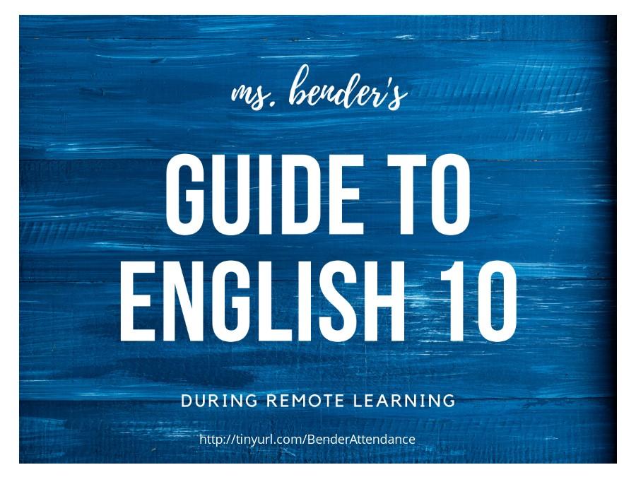 English 10 Manual