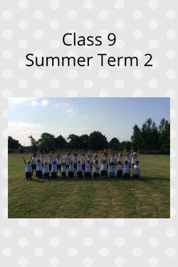 Class 9 Summer Term 2