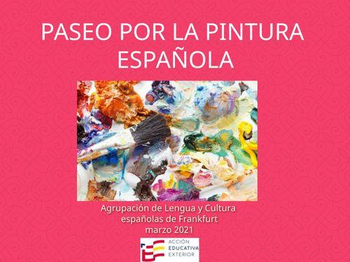 Paseo por la pintura española