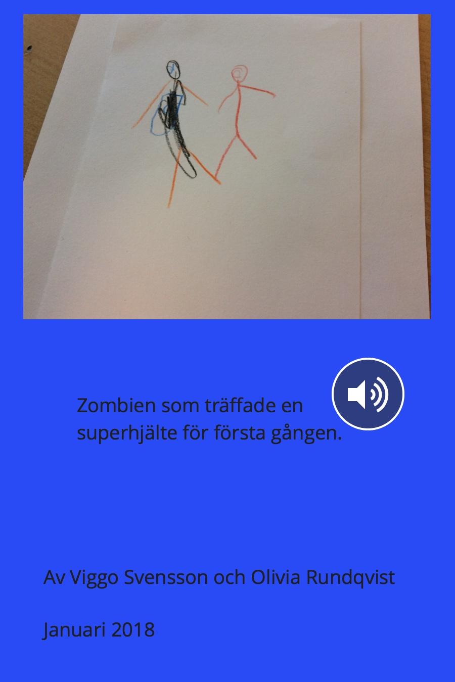 Zombien som träffade en superhjälte för första gången.