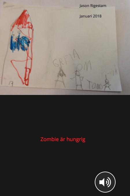 Zombien är hungrig