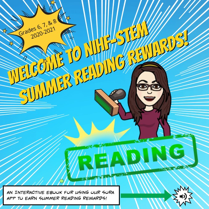 (copy) NIHF STEM Summer Reading Rewards!