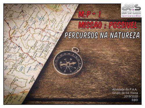 Missão Possível - Percursos na Natureza 8ºA