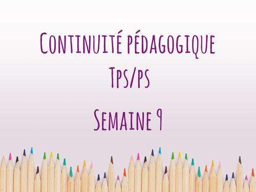 Continuité péda TPS/PS