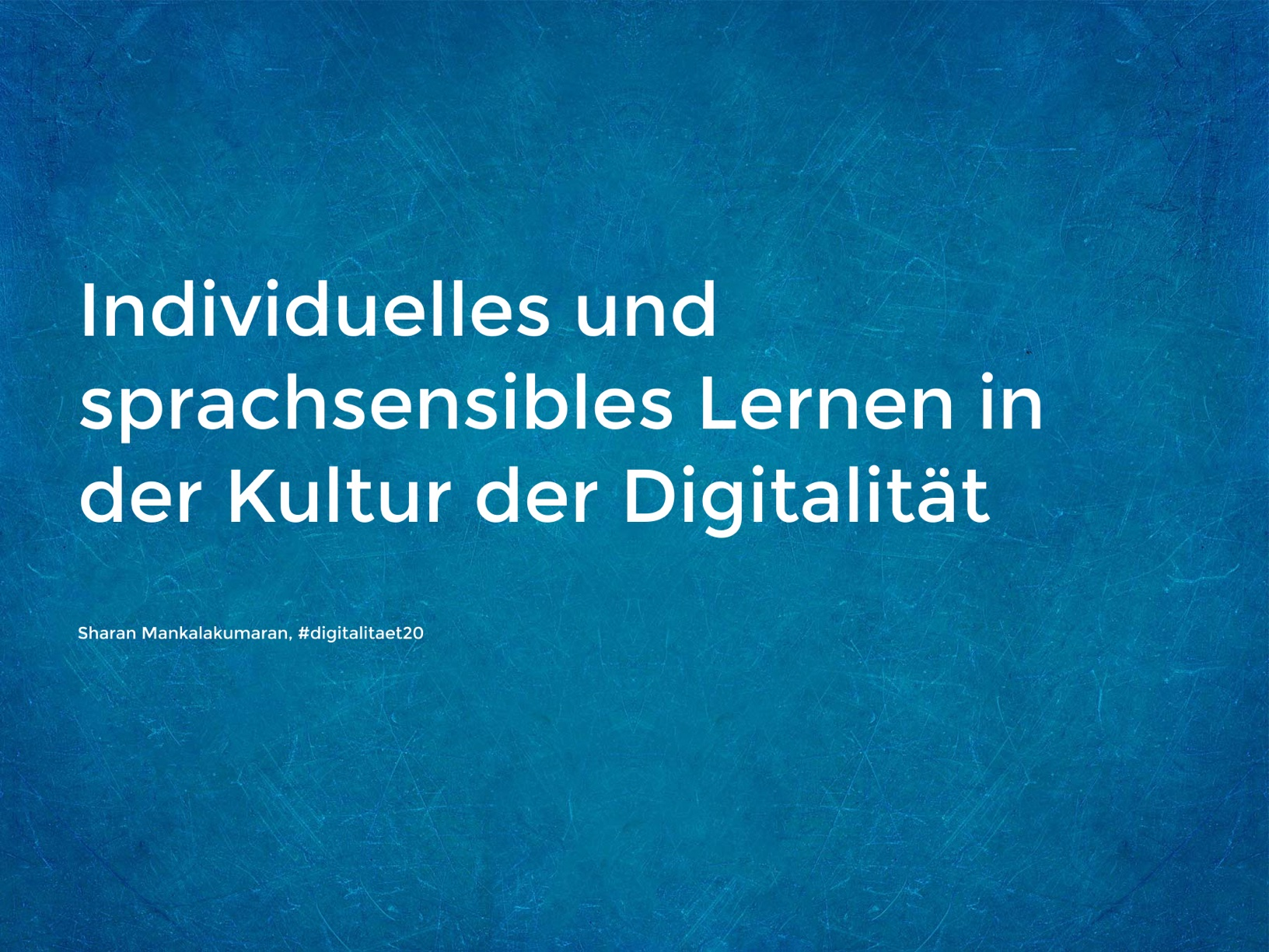 Impuls - #digitalitaet20
