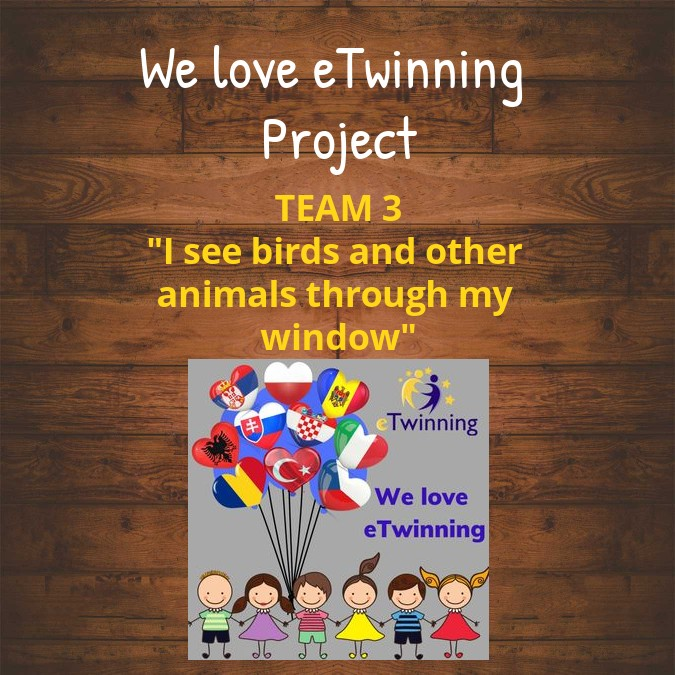 We love eTwinning TEAM 3