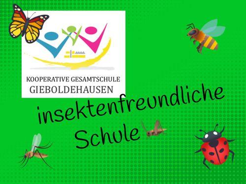 Kooperative Gesamtschule Gieboldehausen insektenfreundliche Schule