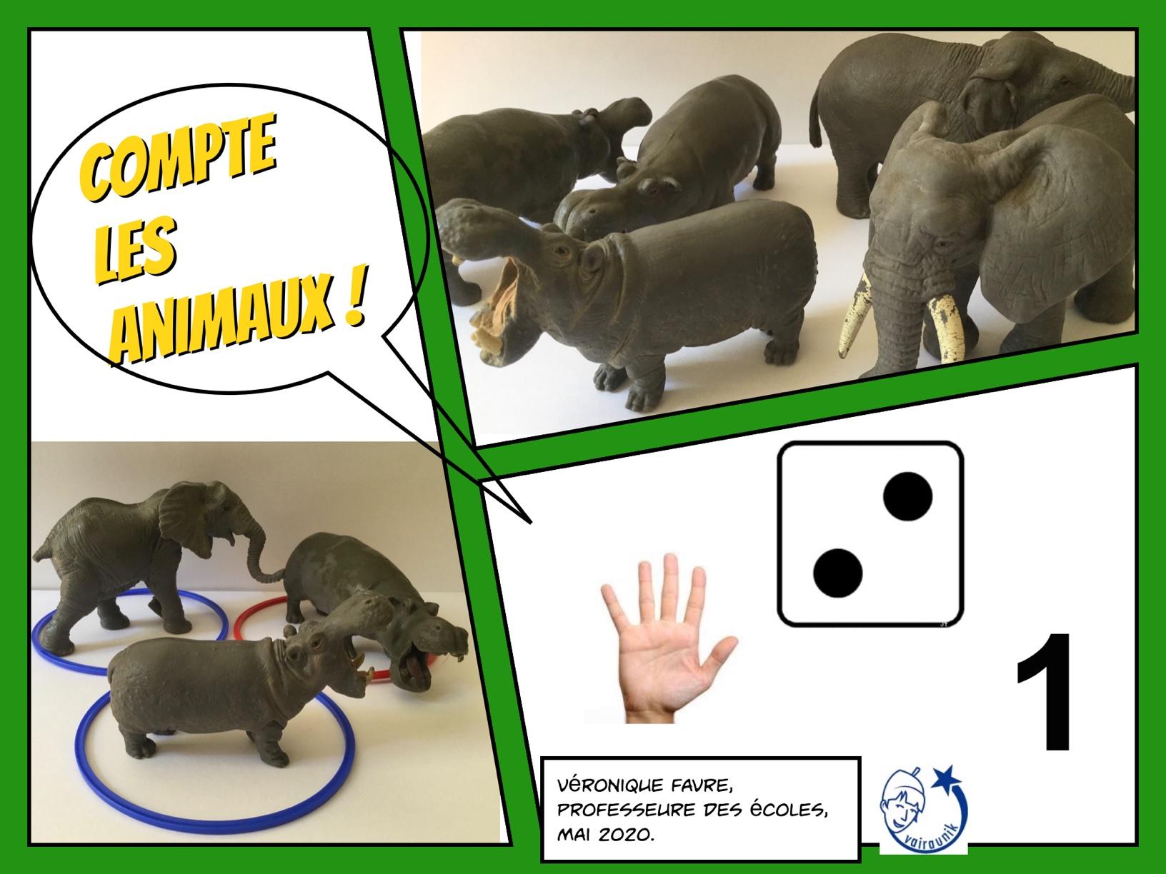 COMBIEN D'ANIMAUX ? #2