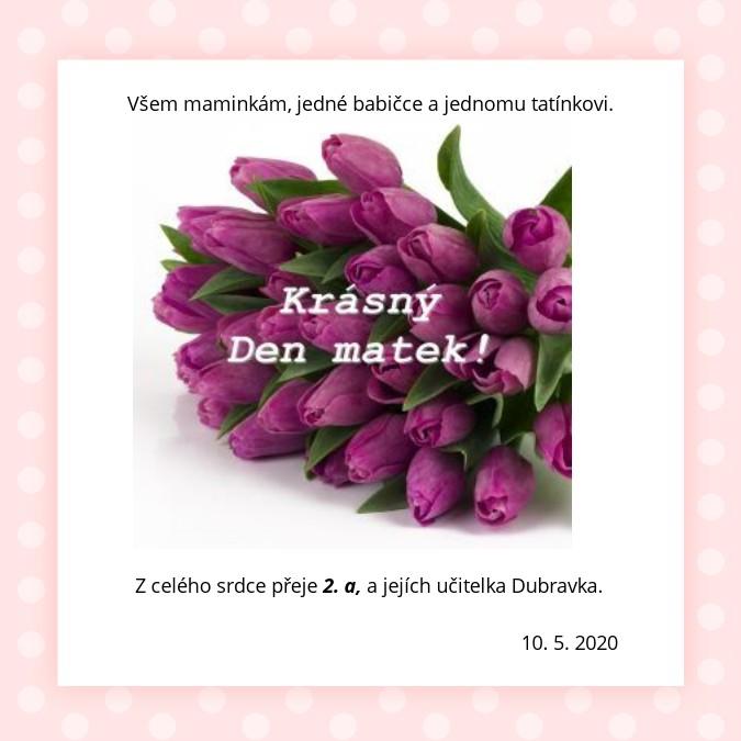 Krásný Den matek!