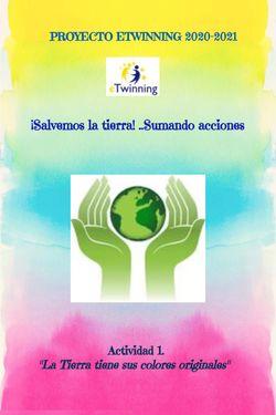 """""""La Tierra tiene sus colores originales""""Proyecto eTwinning""""Salvemos la Tierra...sumando acciones"""""""