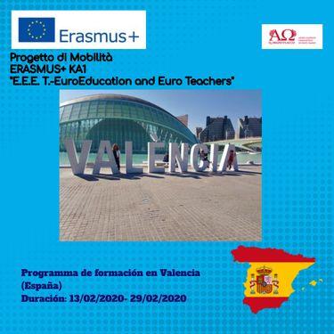 Progetto di mobilità Erasmus+ (Valencia)