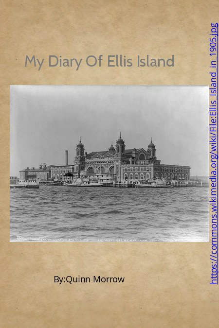 My Diary Of Ellis Island