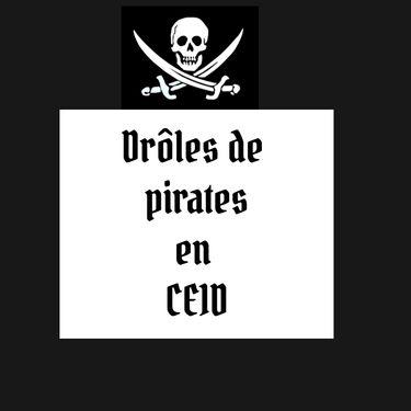 Drôle de pirates en CE1