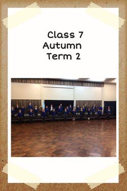 Class 7 Autumn Term 2