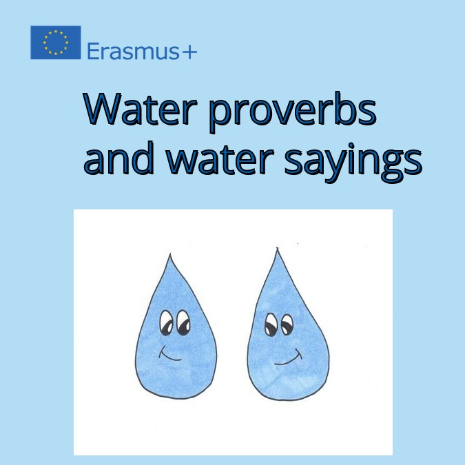 WATER PROVERBS AND WATER SAYINGS