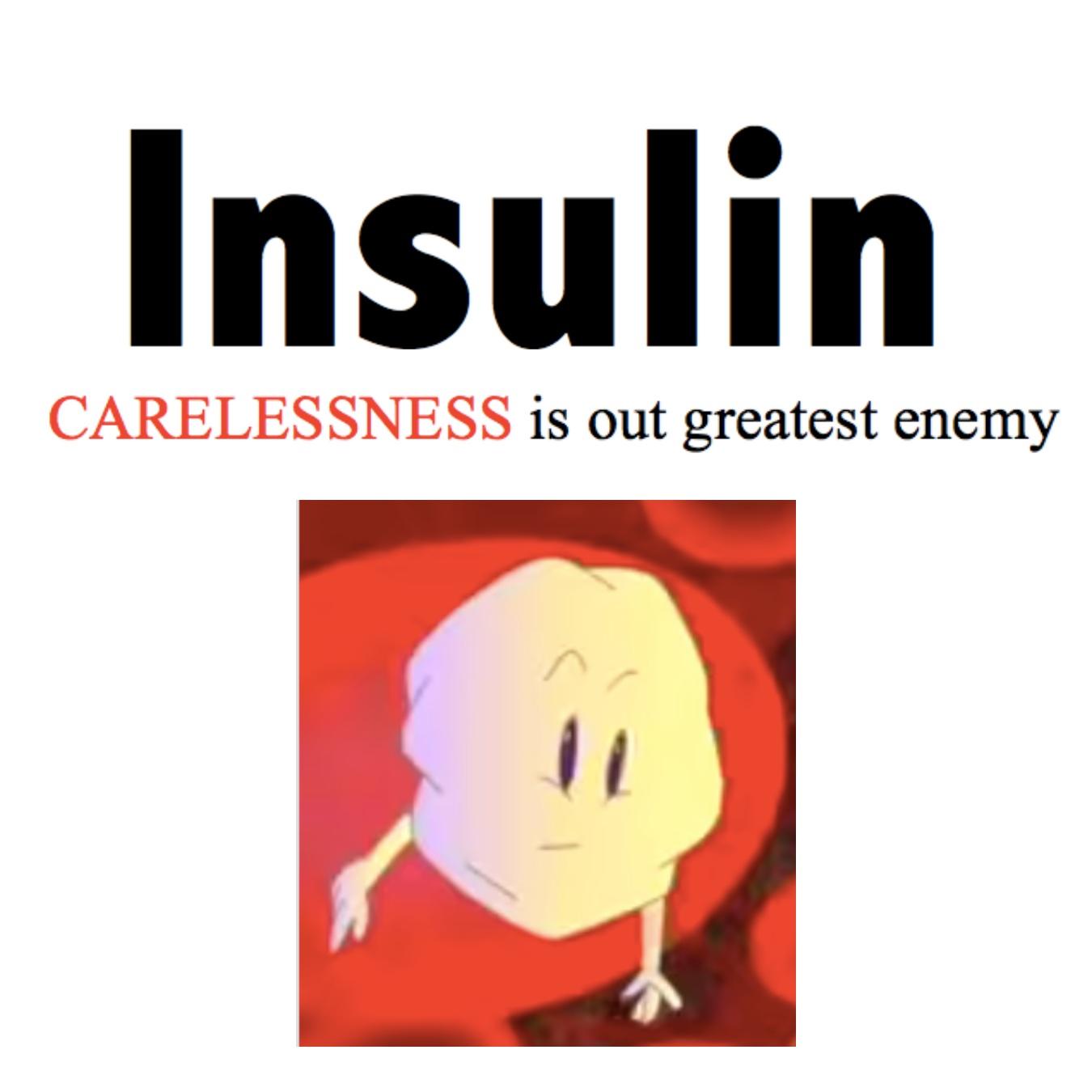 Insulin cause DEATH?!