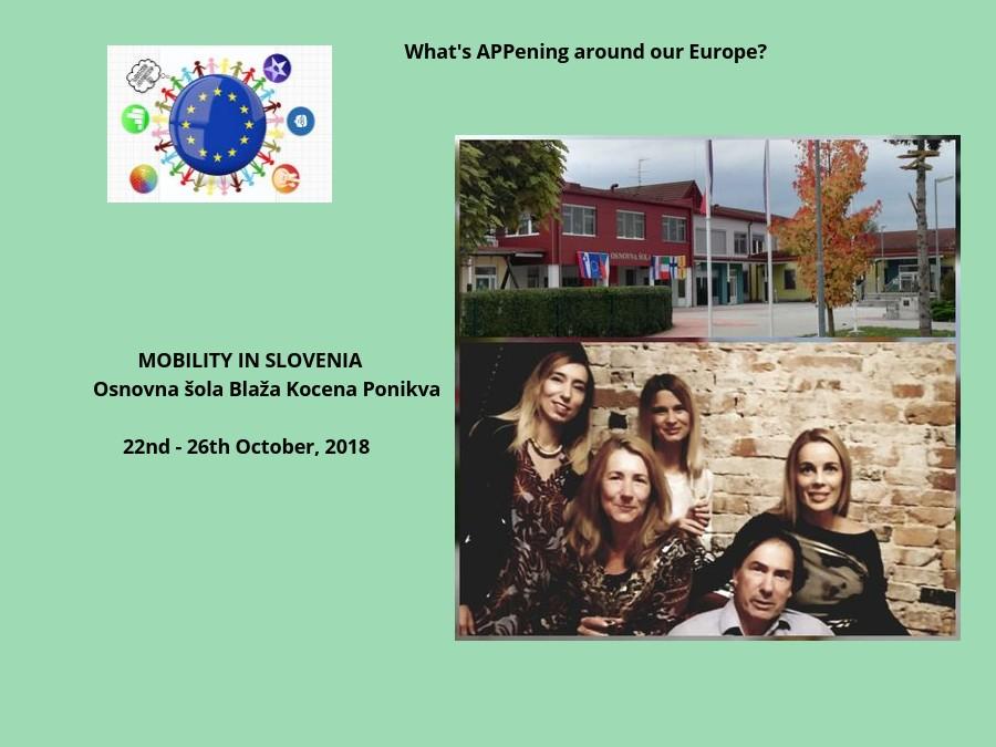 Erasmus+ : Mobility in Slovenia 2018
