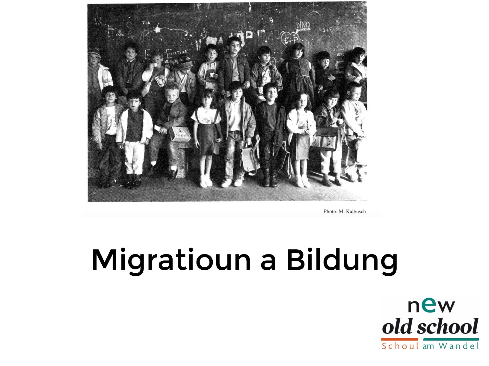 Migratioun a Bildung
