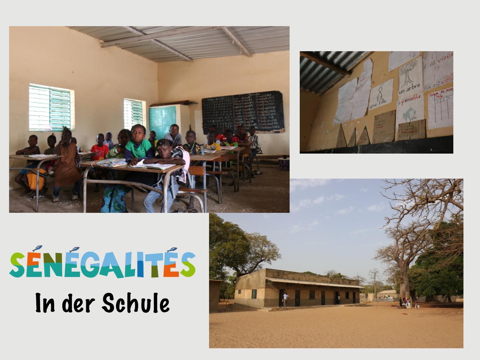 Sénégalités - In der Schule