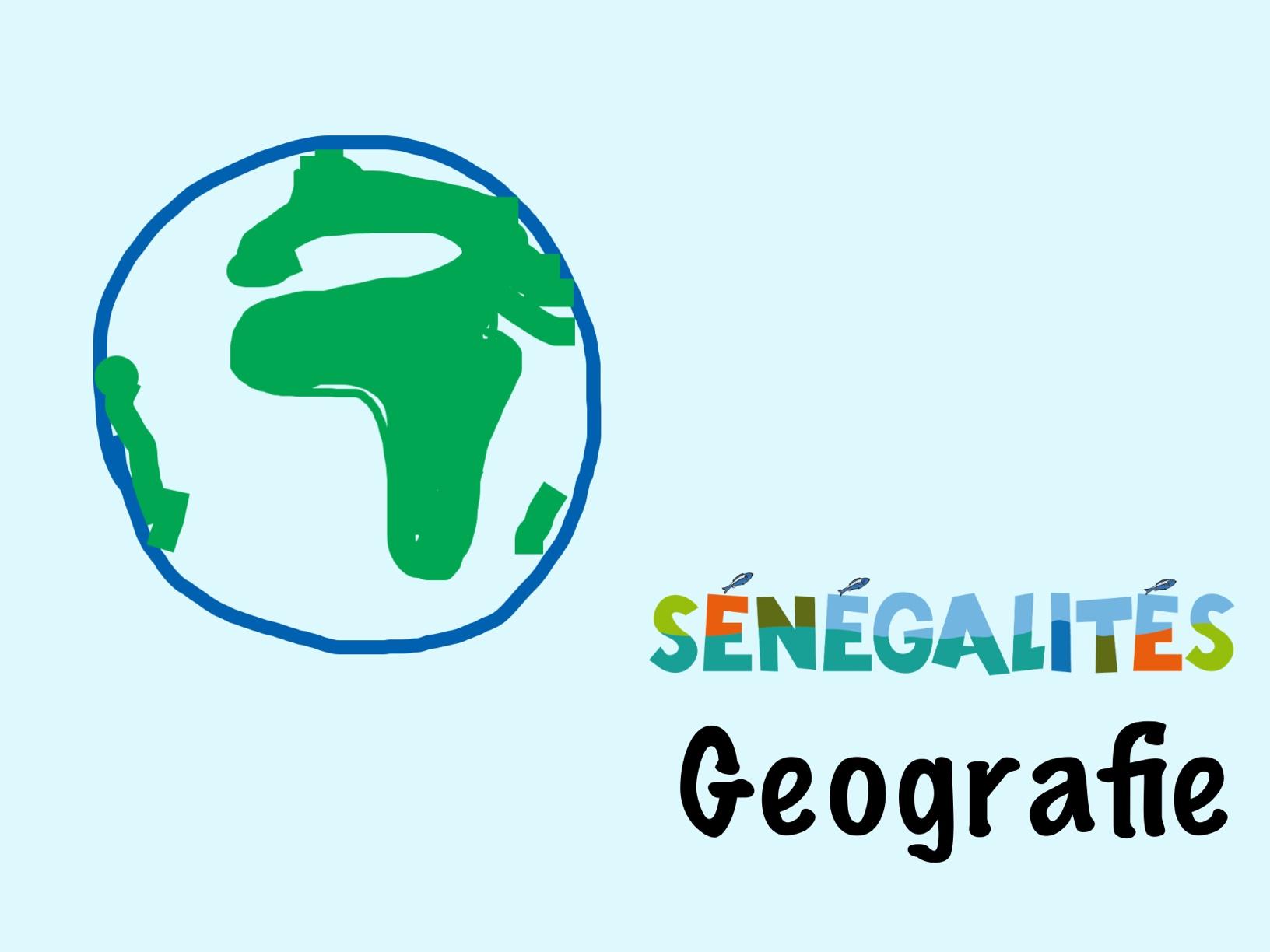 Sénégalités - Geografie