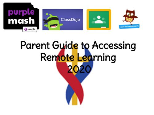 Parent Guide to Remote Learning