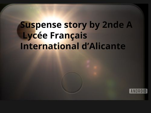 My suspense story