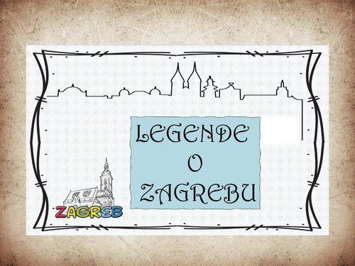 LEGENDE O ZAGREBU