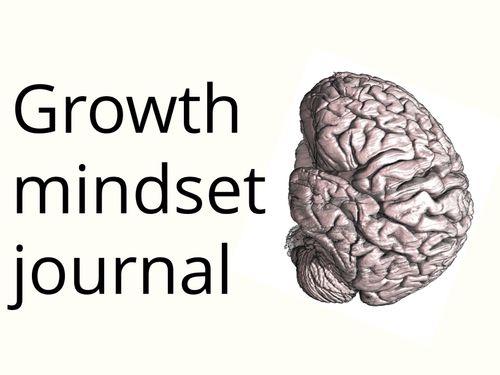 Growth Mindset Journal