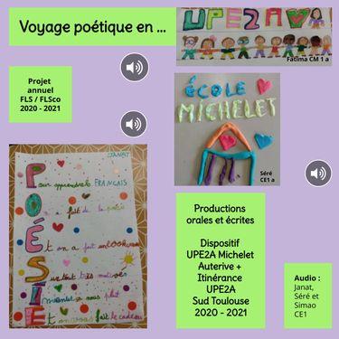 Voyage poétiques en UPE2A