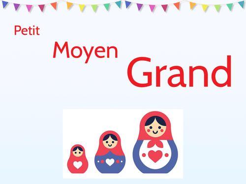 (copy) Petit Moyen Grand