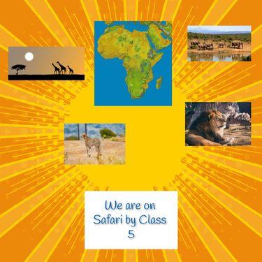 Class 5 We are on Safari