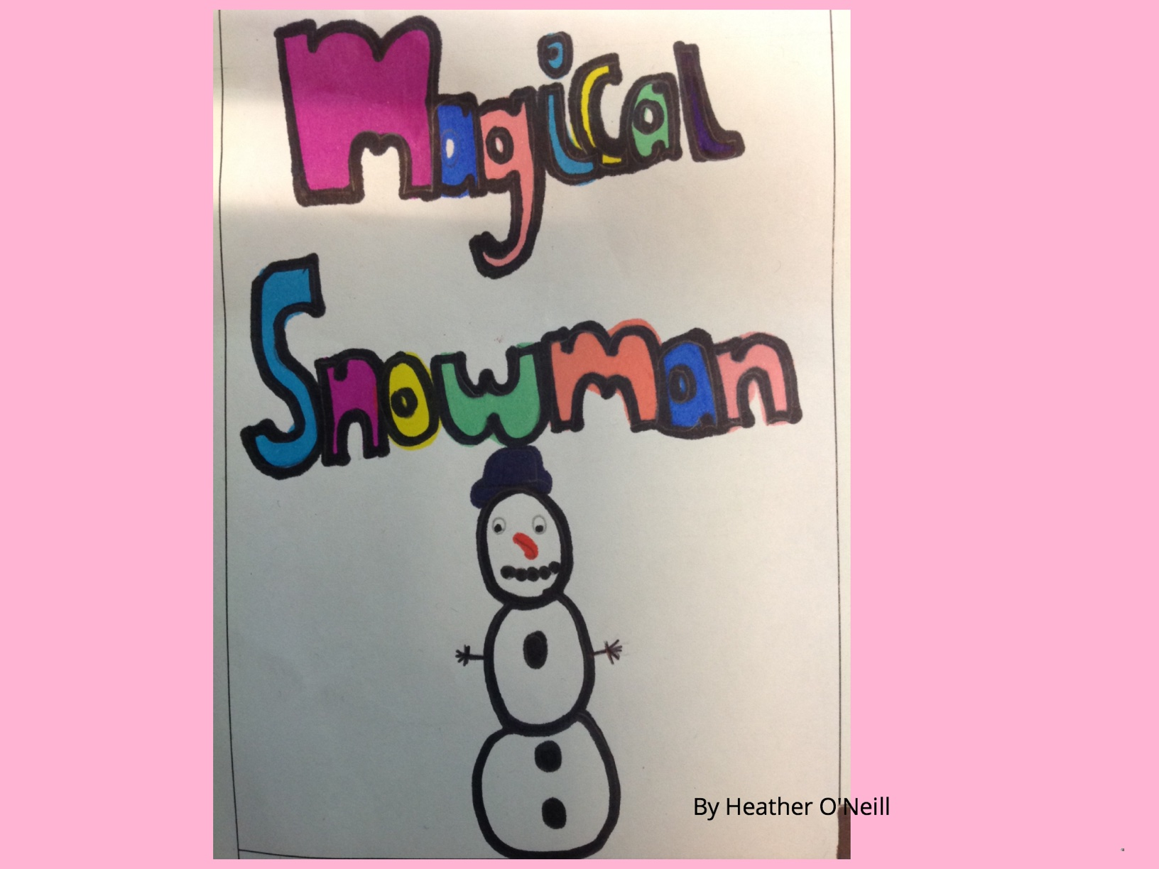 Magical Snowman