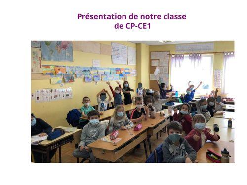 Classe CP-CE1 : présentation