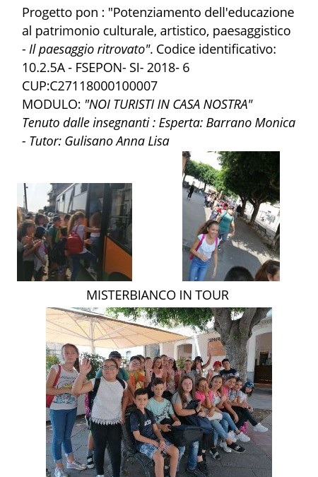 Misterbianco in tour