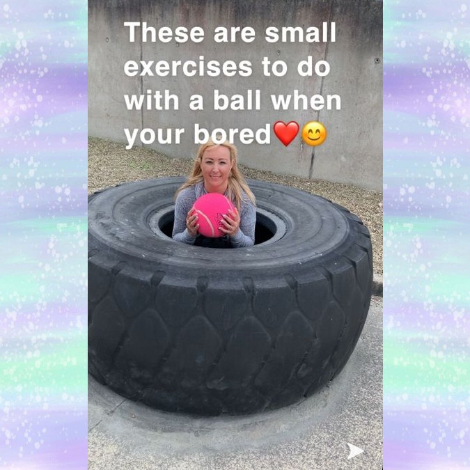 Exercises to do with a ball