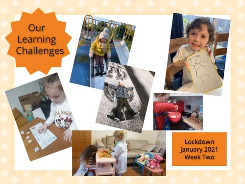 Our Learning Challenges week 2