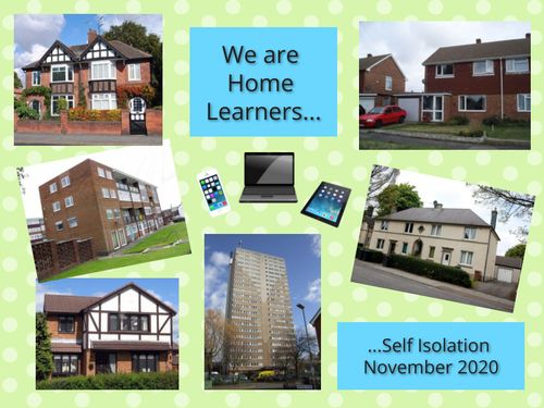 We are home learners